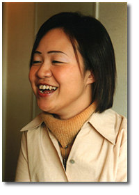 笑顔の小島さん
