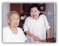 田さんと鄭さんの写真