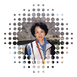 大石さんの写真。