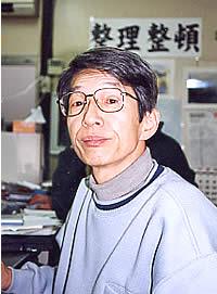 釜ヶ崎支援機構の事務局長 松繁逸夫さん