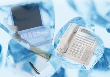 電話など通信イメージ
