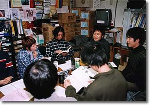 読書会の風景